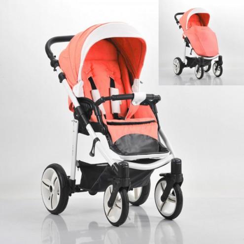 Детская прогулочная коляска – Nico, шасси белая/BIA SL325Детские прогулочные коляски<br>Детская прогулочная коляска – Nico, шасси белая/BIA SL325<br>
