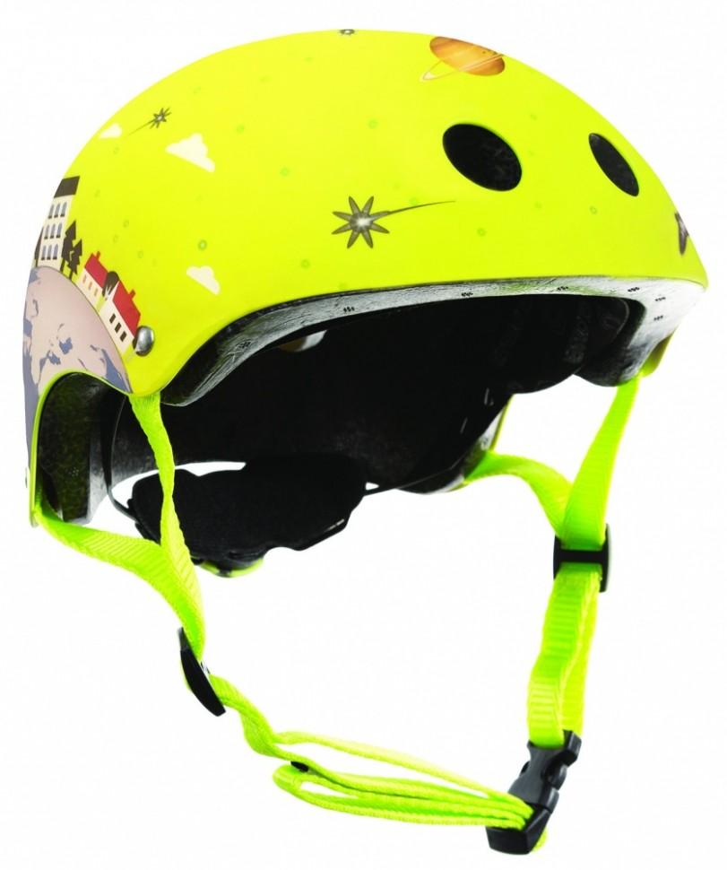 Купить Шлем Printed Junior размер XS/S 51-54 см., зеленый, Globber