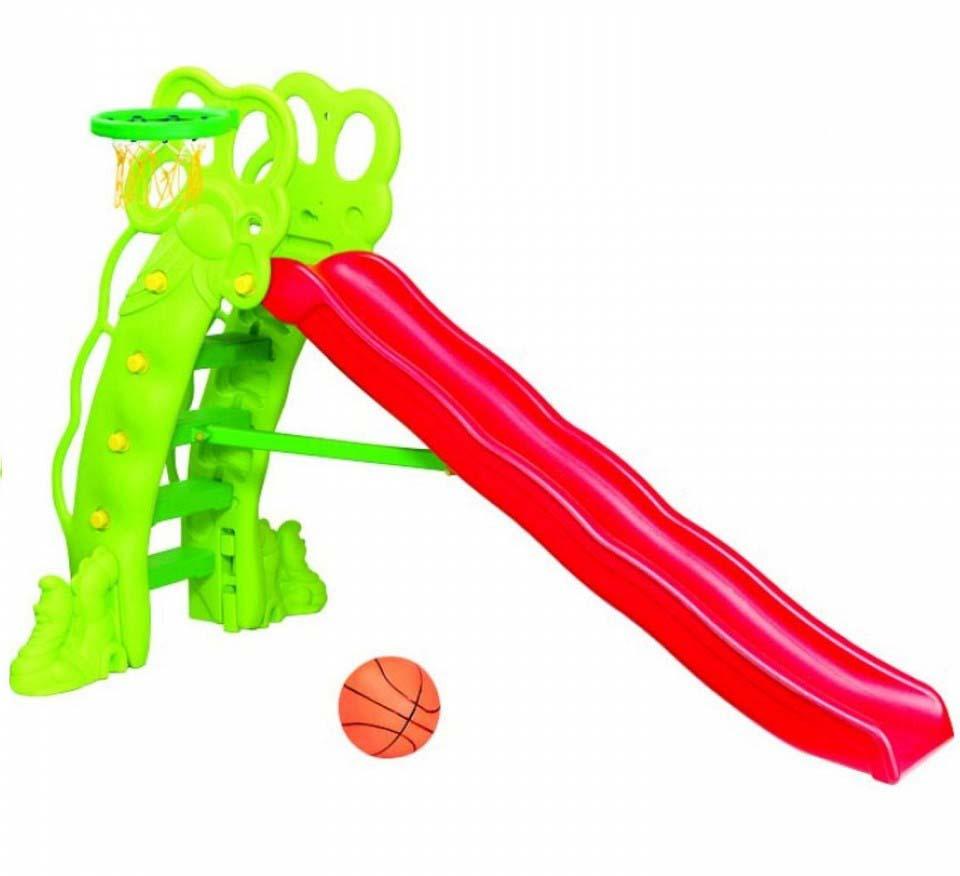 Горка и баскетбольное кольцо – Горошина