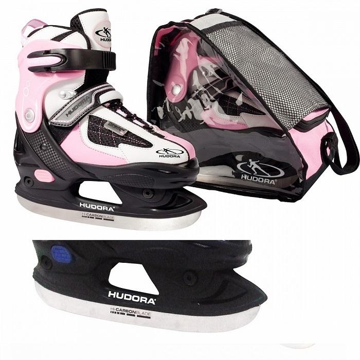 Коньки Set HD цвет розовый, размер 28-31 фото