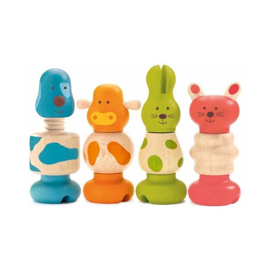 Набор игрушек - Животные фото