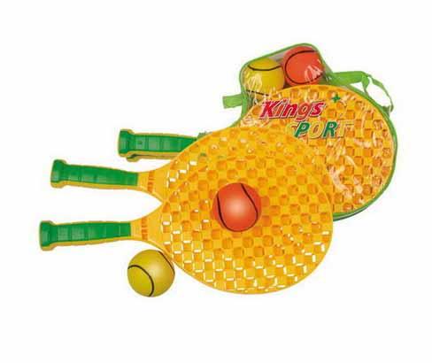 Набор для игры в теннис - Kings Sport, 4 предметаБаскетбол, бадминтон, теннис<br>Набор для игры в теннис - Kings Sport, 4 предмета<br>