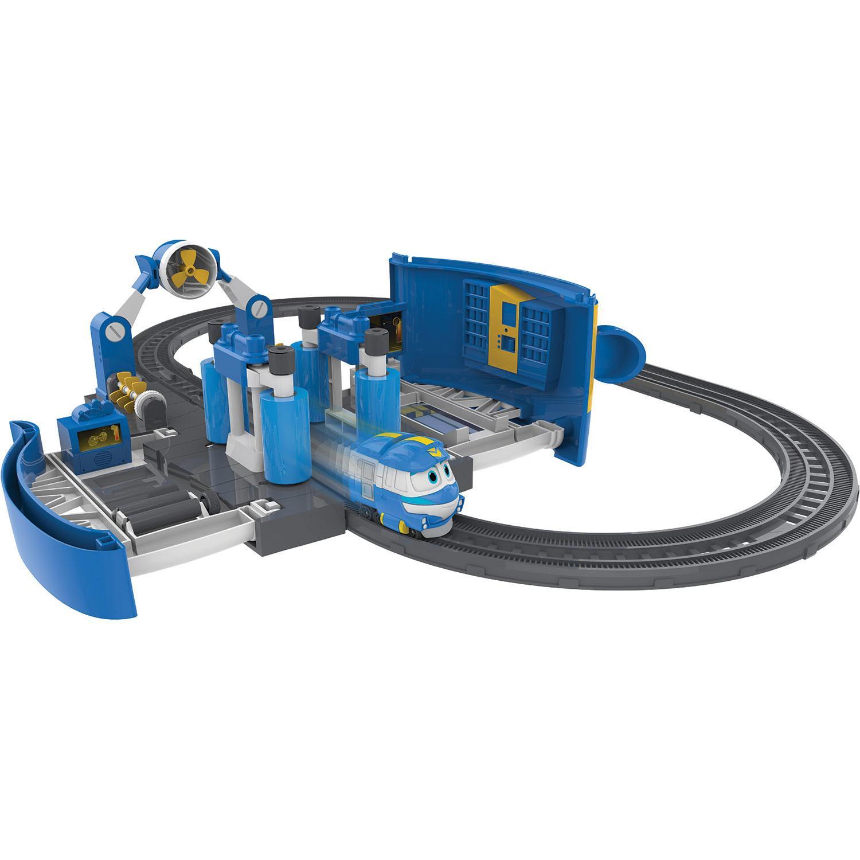 Игровой набор Robot Trains - Мойка Кея, звукРоботы-поезда (Robot Trains)<br>Игровой набор Robot Trains - Мойка Кея, звук<br>
