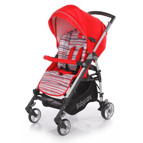Коляска трость GT4 Plus, RedДетские коляски Capella Jetem, Baby Care<br>Коляска трость GT4 Plus, Red<br>