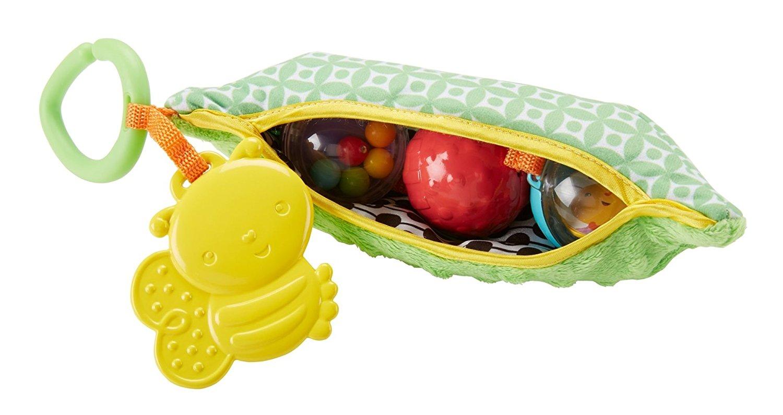 Fisher-Price. Плюшевая игрушка-погремушка - ГорошекРазвивающие игрушки Fisher-Price<br>Fisher-Price. Плюшевая игрушка-погремушка - Горошек<br>
