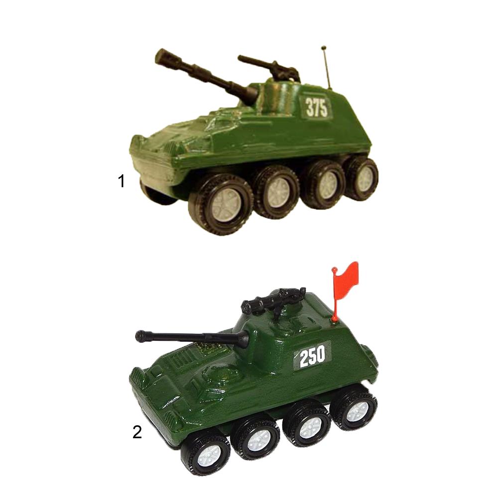 Машинка САУ - самоходная артиллерийская установка из серии Патриот, 11 х 7 см. фото