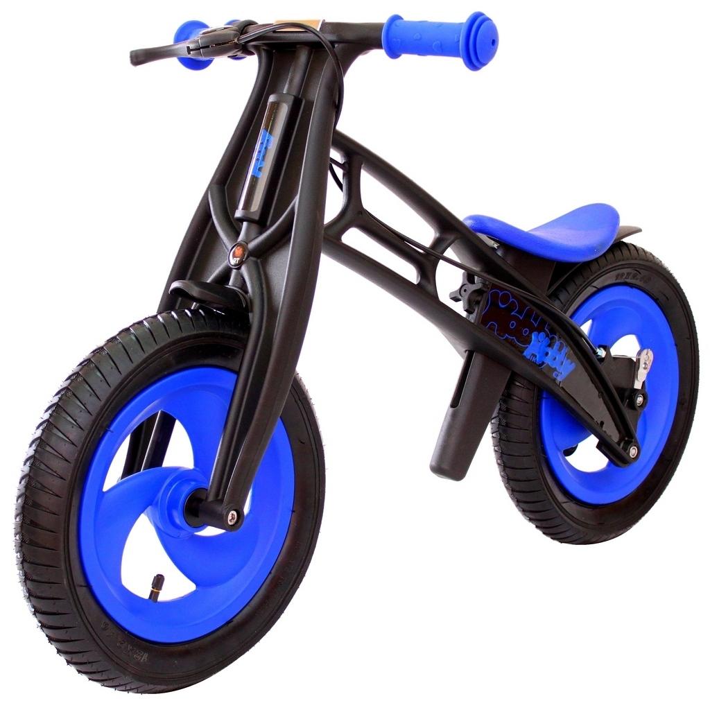 Hobby-bike RT original Велобалансир+беговел, blue/black, шины елочка
