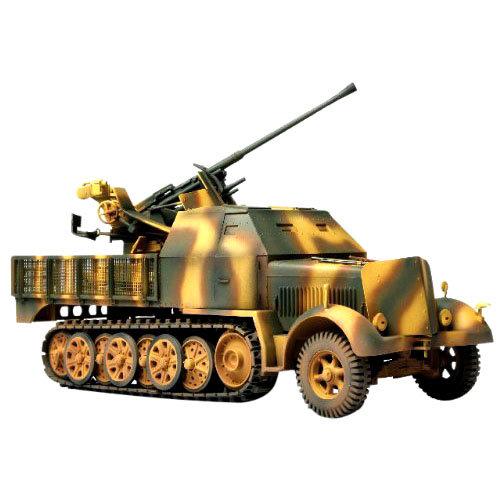 Купить Коллекционная модель - немецкая ЗСУ Sd. Kfz. 7/2 37 мм, Восточный фронт, 1943 год, 1:72, Unimax