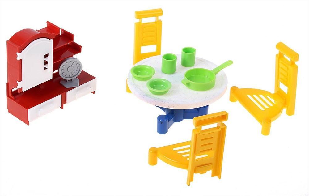 Игровой набор мебели - Гостиная 2Кукольные домики<br>Игровой набор мебели - Гостиная 2<br>