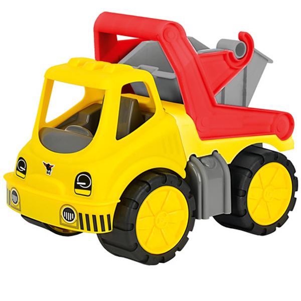 Машинка-контейнеровоз Power Worker с подвижным кузовомБетономешалки, строительная техника<br>Машинка-контейнеровоз Power Worker с подвижным кузовом<br>