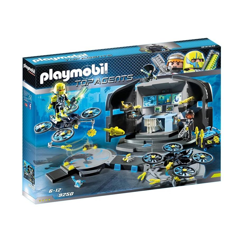Купить Игровой набор из серии Суперагенты: Командный пункт доктора Дрона, Playmobil