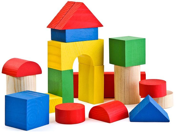 Конструктор - ЦветнойКубики<br>Конструктор - Цветной<br>