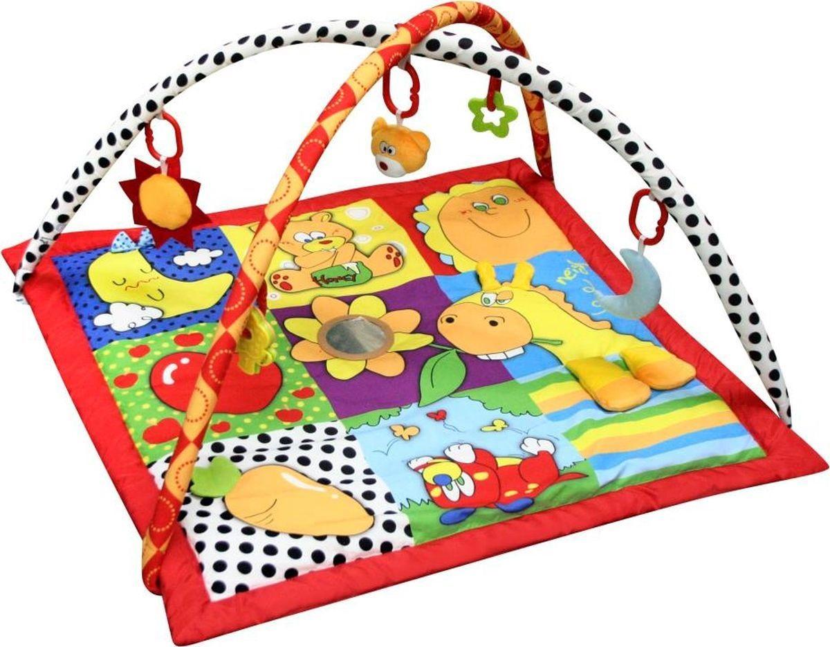 Коврик развивающий игровой - Летняя пораДетские развивающие коврики для новорожденных<br>Коврик развивающий игровой - Летняя пора<br>