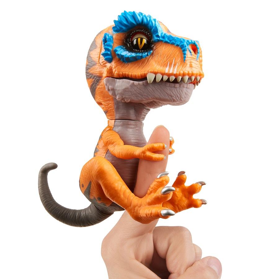 Купить Интерактивный динозавр Fingerlings - Скретч, 12 см, WowWee