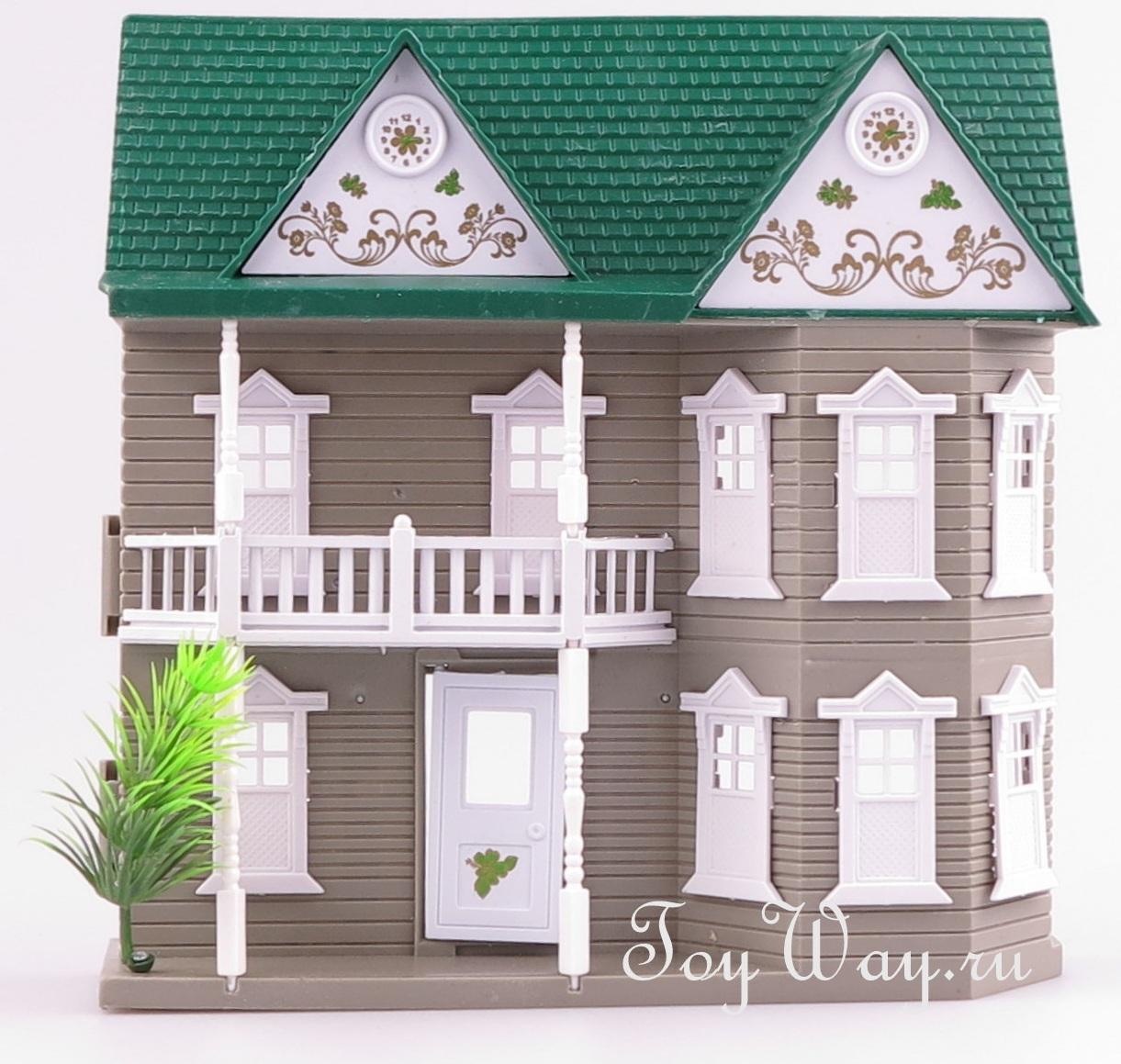Кукольный домик с аксессуарамиКукольные домики<br>Кукольный домик с аксессуарами<br>