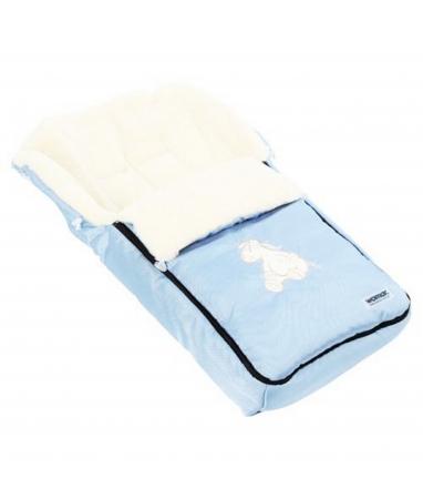 Спальный мешок в коляску №06 - Aurora, светло-голубой