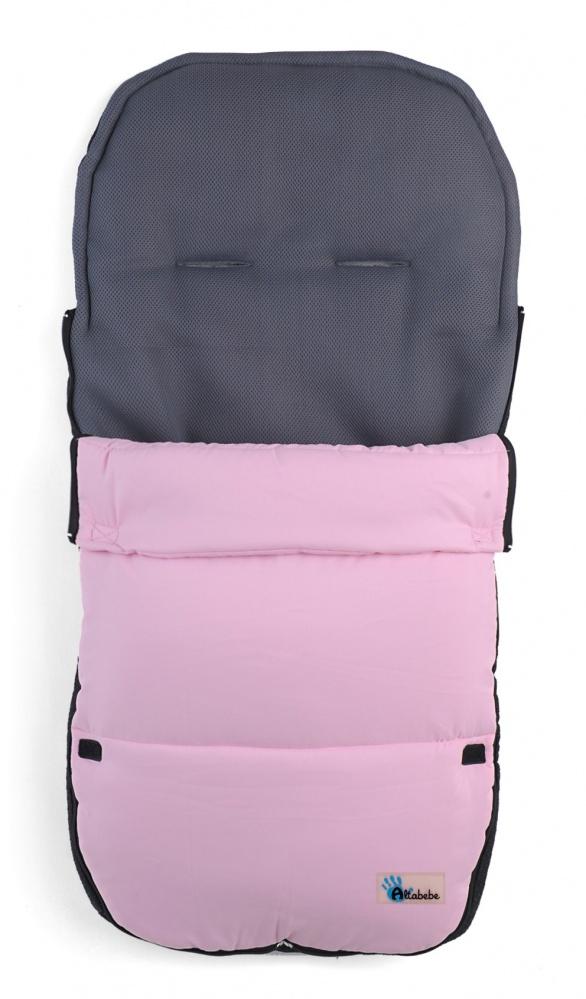 Демисезонный конверт AL2400 Altabebe Microfibre, размер 90 x45 см., розовыйДемисезонные конверты для новорожденных<br>Демисезонный конверт AL2400 Altabebe Microfibre, размер 90 x45 см., розовый<br>