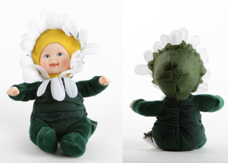 Кукла из серии «Детки-ромашки», 15 смКуклы детки ANNE GEDDES<br>Кукла из серии «Детки-ромашки», 15 см<br>