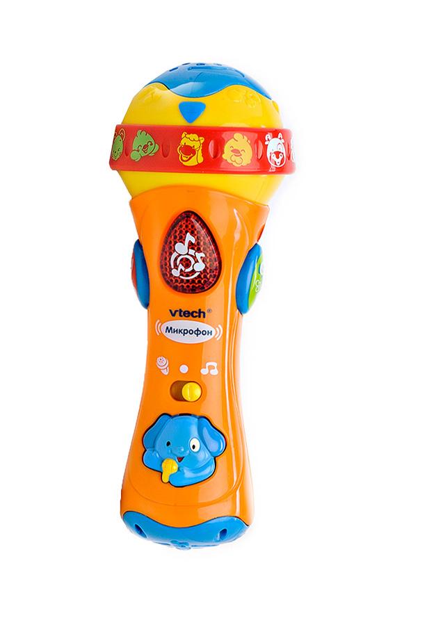 Развивающая игрушка – микрофон, русифицированный, со светом - Микрофоны и танцевальные коврики, артикул: 124627