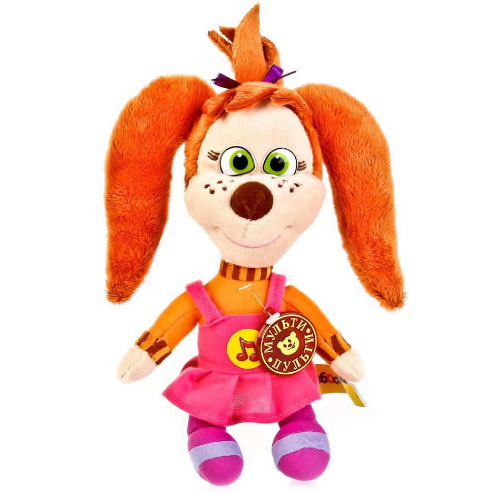 Купить Мягкая интерактивная игрушка из мультфильма Барбоскины - Лиза 20 см, русское озвучивание, Мульти-Пульти