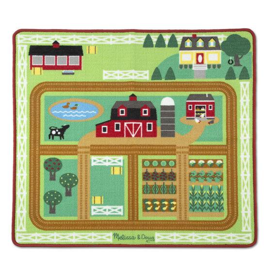 Коврик  Ферма - Игровые наборы Зоопарк, Ферма, артикул: 170567