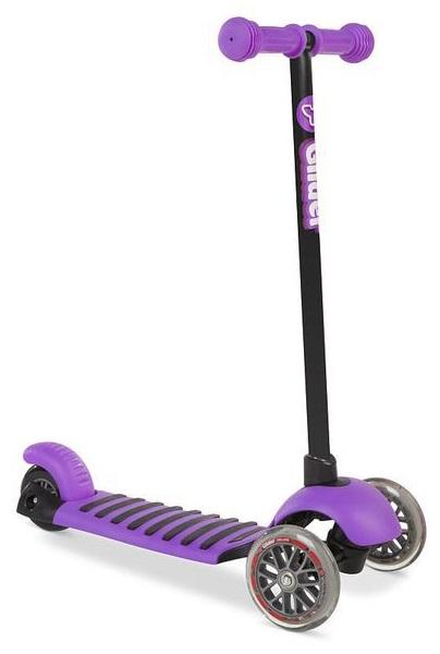 Трехколесный самокат YVolution Glider Deluxe, фиолетовый, 100487 фото