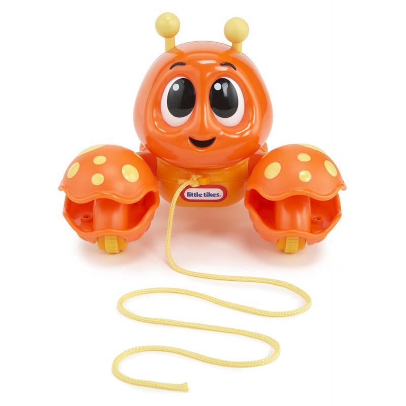 Развивающая игрушка «Клацающий лобстер», на веревочкеРазвивающие игрушки Little Tikes<br>Развивающая игрушка «Клацающий лобстер», на веревочке<br>