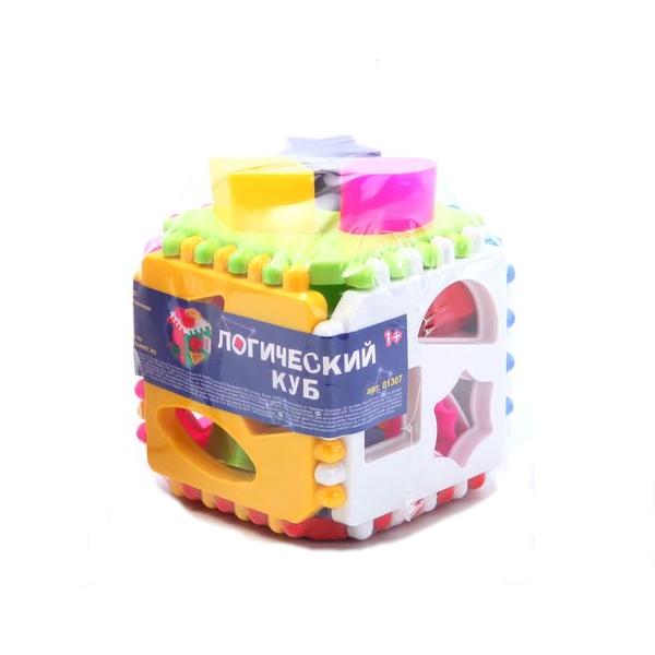 Логический кубик для малышейСортеры, пирамидки<br>Логический кубик для малышей<br>