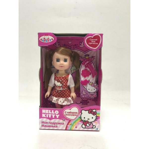 Кукла Машенька из серии Hello Kitty 15 см., с аксессуарамиКуклы Карапуз<br>Кукла Машенька из серии Hello Kitty 15 см., с аксессуарами<br>