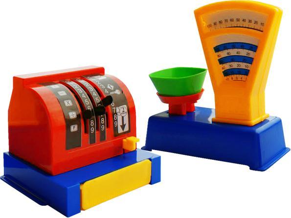 Набор магазин – Весы и кассаДетская игрушка Касса. Магазин. Супермаркет<br>Набор магазин – Весы и касса<br>