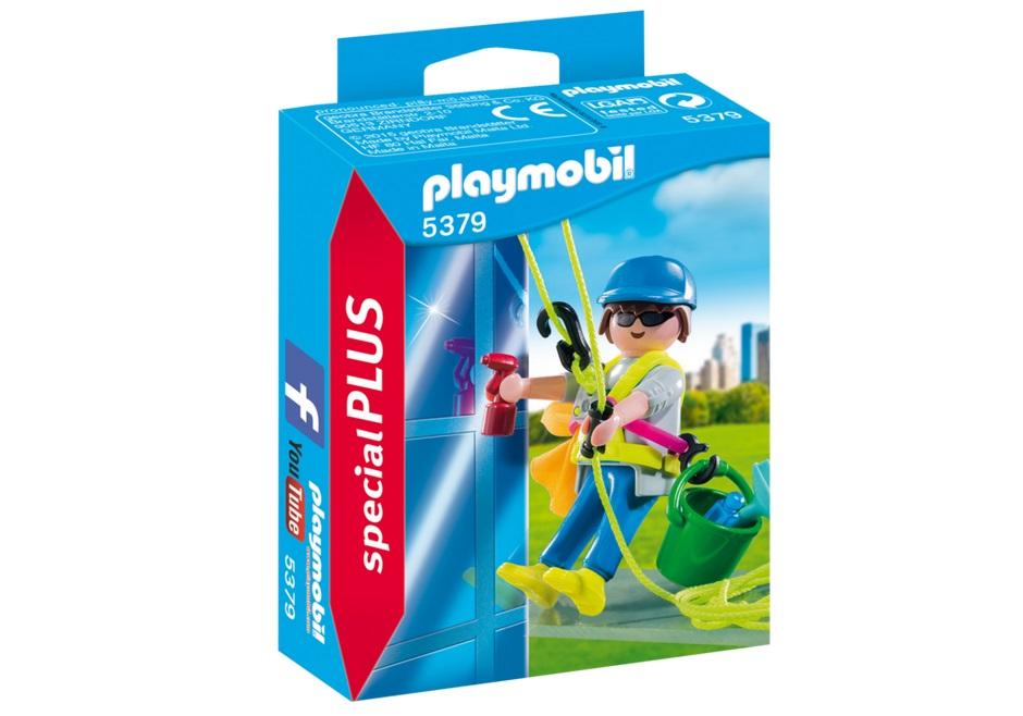 Купить Игровой экстра-набор: Мойка окон, Playmobil