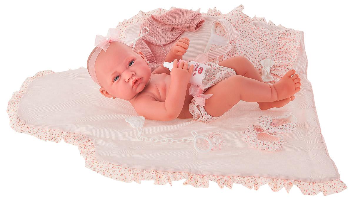 Купить Кукла-младенец Африка в розовом, 42 см., Antonio Juan Munecas