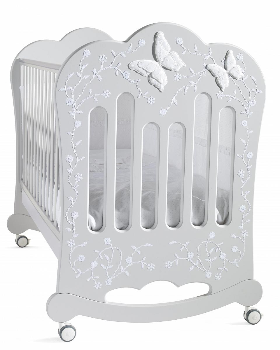Детская кроватка Feretti Charme BIANCO/WHITE