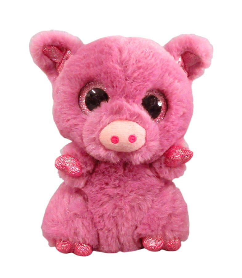 Купить Мягкая игрушка - Свинка розовая, 15 см., MaxiToys
