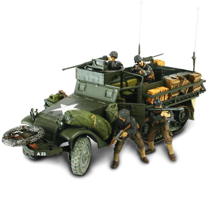 Коллекционная модель - США, Танк M3A1 Half-Track 1:32Военная техника<br>Коллекционная модель - США, Танк M3A1 Half-Track 1:32<br>