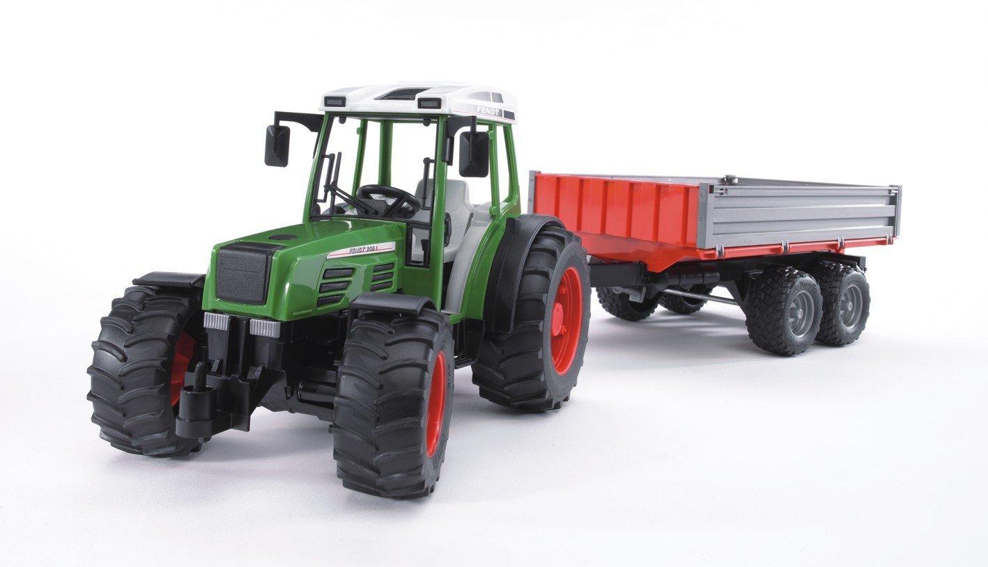 Трактор Bruder Fendt 209 S с прицепомИгрушечные тракторы<br><br>