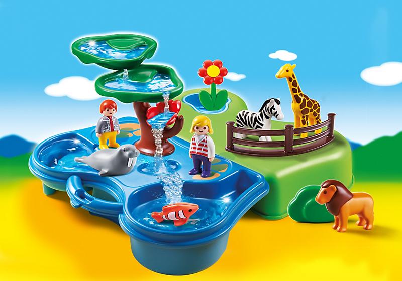 Игровой набор из серии «Возьми с собой»  Зоопарк и Аквариум - Конструкторы Playmobil, артикул: 134691