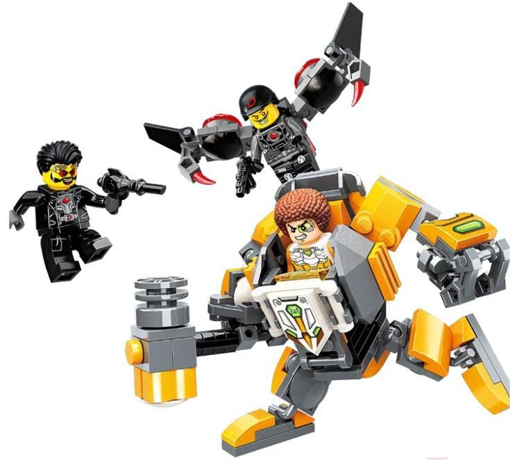 Конструктор – Робот с фигурками, 136 деталей ) по цене 299