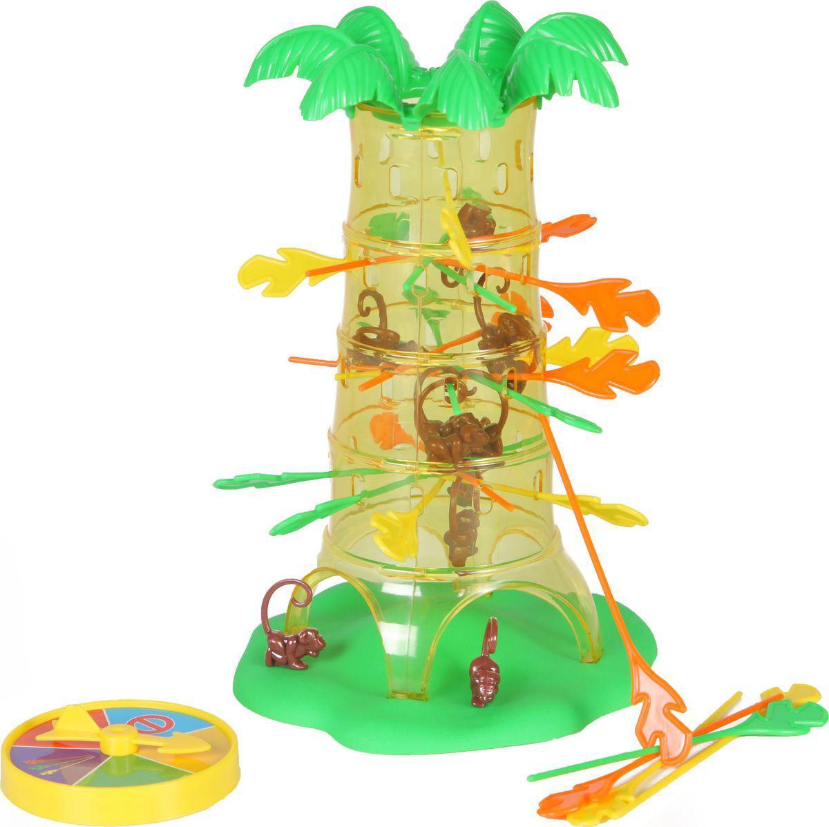 Настольная игра - Обезьянки на деревеРазвивающие<br>Настольная игра - Обезьянки на дереве<br>