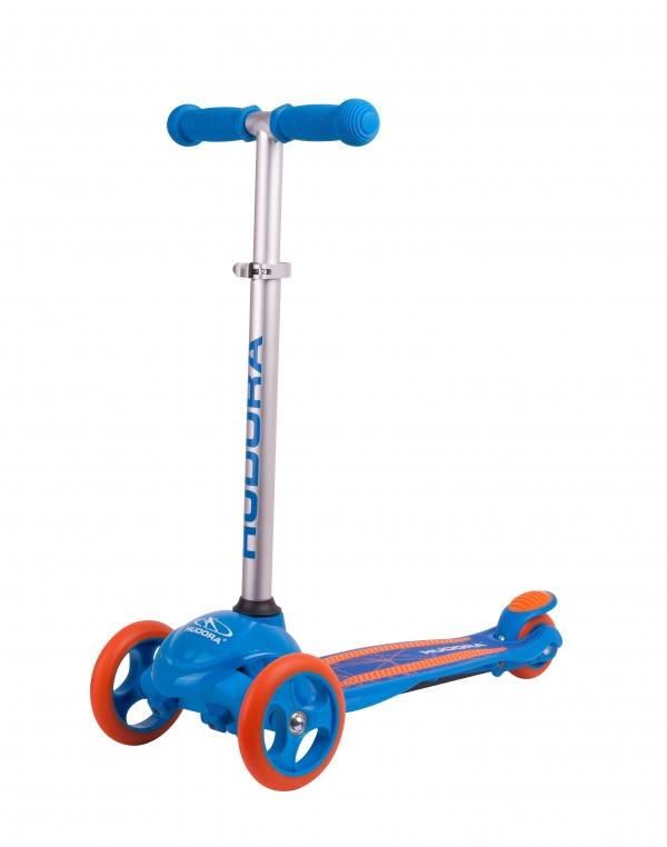 Детский 3х колесный самокат Flitzkids 2.0, blau/ синий