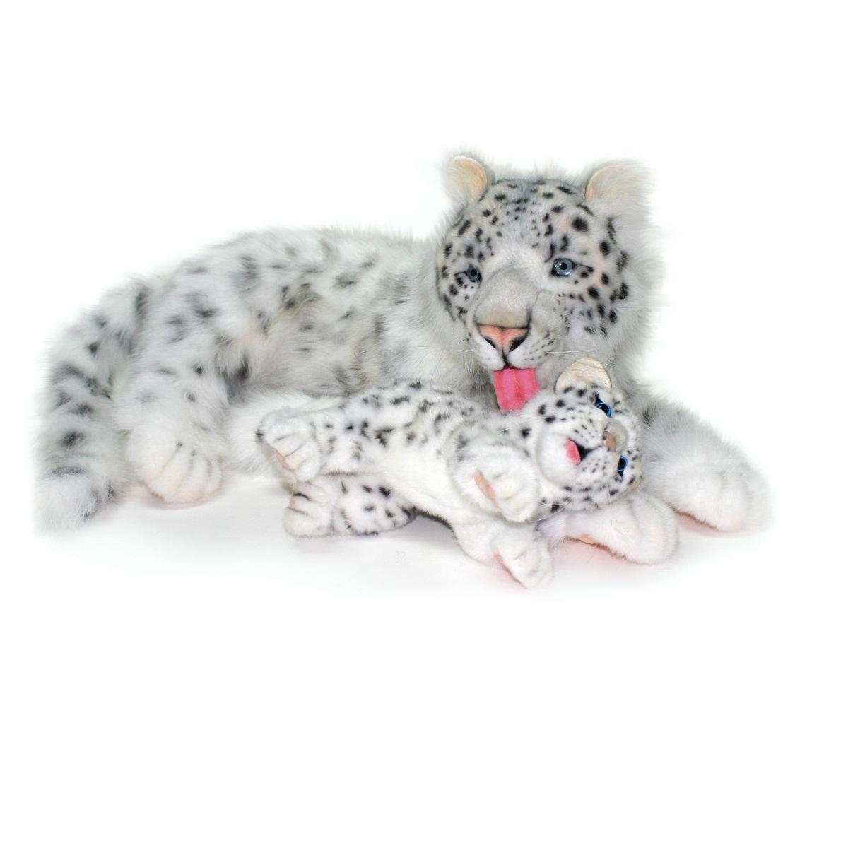 Мягкая игрушка - Снежный барс мама, 70 см.