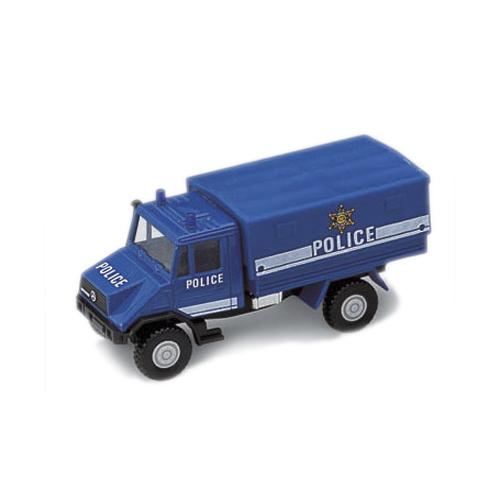 Модель полицейского грузовика с кузовомПолицейские машины<br>Модель полицейского грузовика с кузовом<br>