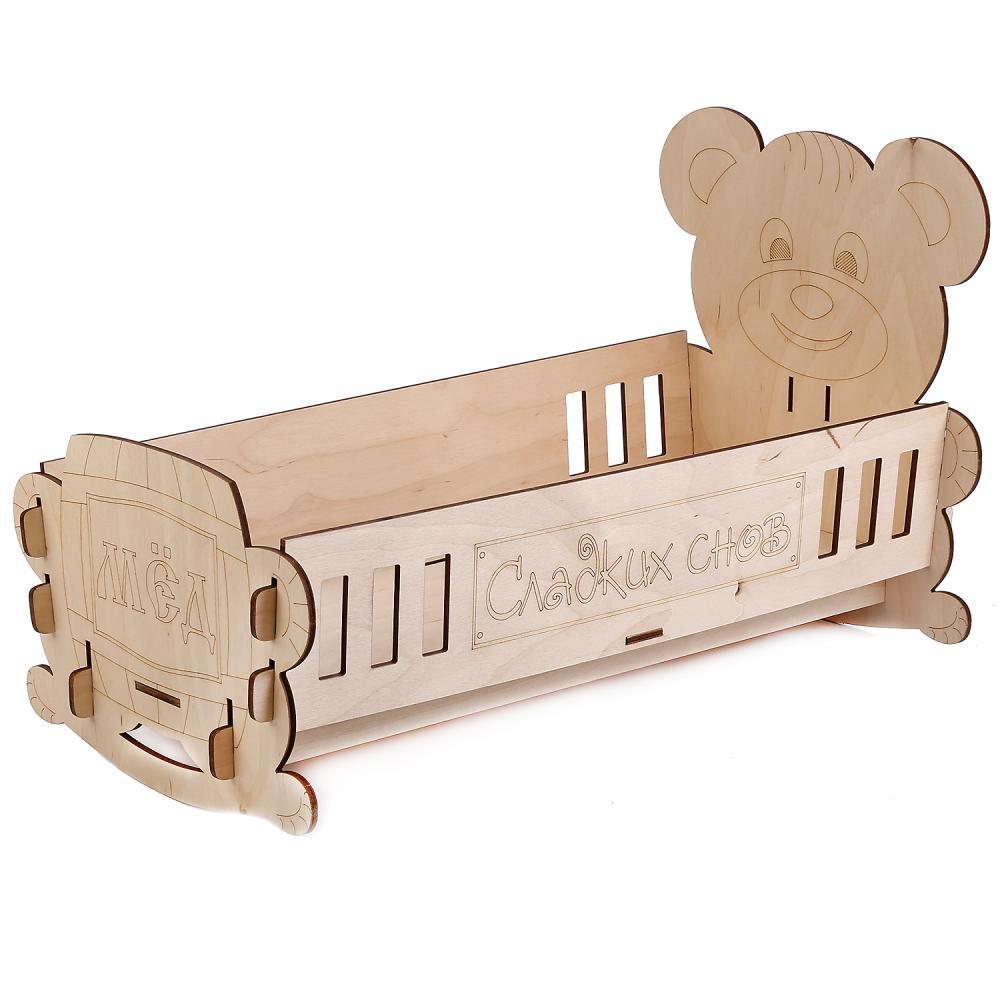 Купить Кроватка для кукол - Honey Bear, Лидер