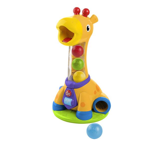 Развивающая игрушка - Веселый жирафик, свет и звукДетские развивающие игрушки<br>Развивающая игрушка - Веселый жирафик, свет и звук<br>