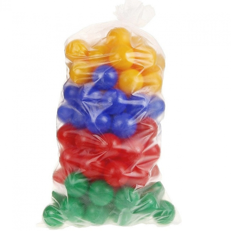 Купить Набор шаров для сухого бассейна, 100 штук