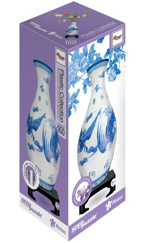Пазл-ваза Волшебные фениксы, 160 элементовПазлы объёмные 3D<br>Пазл-ваза Волшебные фениксы, 160 элементов<br>