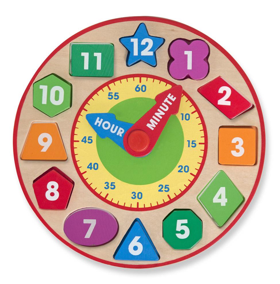 Игрушка из серии - Классические игрушки - Сортировщик-часыЧасы<br>Игрушка из серии - Классические игрушки - Сортировщик-часы<br>