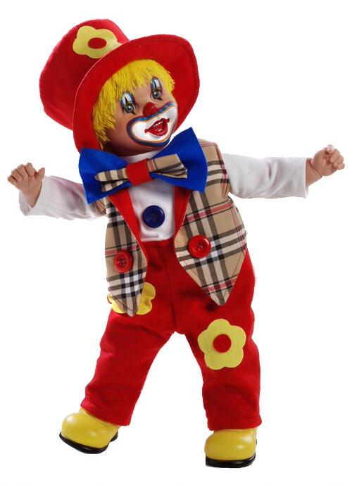 Купить Мягконабивная кукла из серии Arias Elegance – Клоун, 50 см., в коробке