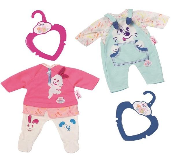 Одежда для куклы my little Baby born 32 см., 2 вида, с вешалкойОдежда Baby Born <br>Одежда для куклы my little Baby born 32 см., 2 вида, с вешалкой<br>