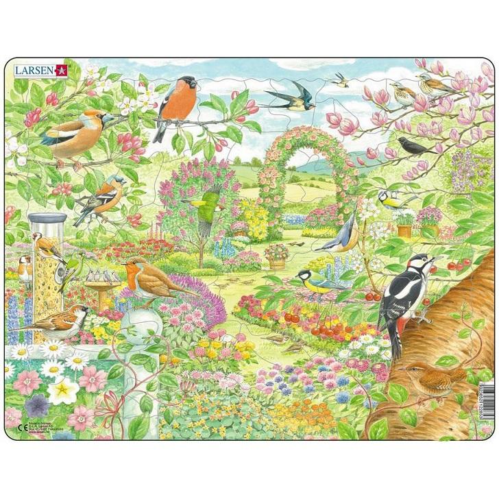 картинка Пазл - Птицы в саду, 60 элементов от магазина Bebikam.ru